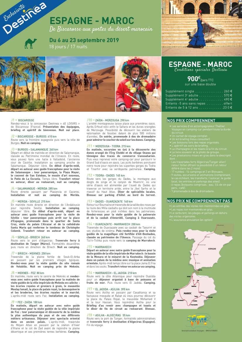 Espagne Maroc Destinéa